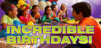 Birthday Party Gift Card Offer