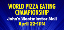 Pizza Eating Championship Offer