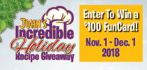 Holiday Recipe Giveaway Offer