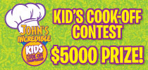 Kids Cook Off Offer