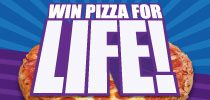 Pizza for Life Offer