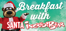 Breakfast with Santa Incredibear Offer