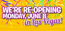 Las Vegas Re-Opening Offer