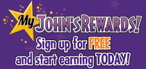 Join My John's Rewards & Save!