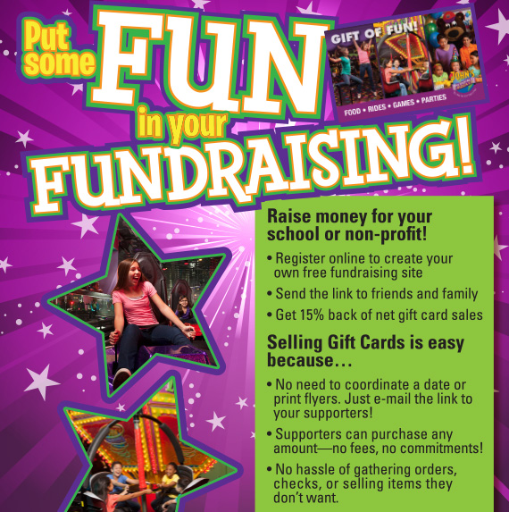 Put Some Fun in your Fundraising!