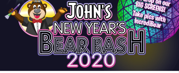 John's New Year's Bear Bash 2020!